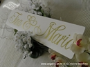 Auto tablica za vjenčanje TIP 1