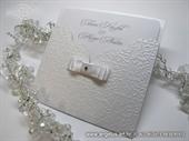 Pozivnica za vjenčanje - Crystal White Charm