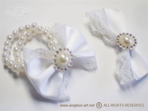 Romantic White Lace