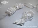 Kitica i rever za vjenčanje Leptirov let - bijela