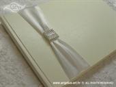 Knjiga gostiju za vjenčanje Srebrni broš