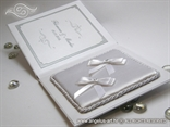 bijela knjiga tvrdih korica za vjencano prstenje