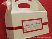 Kutija za kolače - Crvena ruža