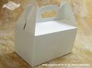 Kutija za kolače - Bijela kutija za kolače (manja)