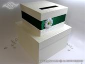 Kutija za kuverte - Emerald Flower Cake