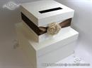 Kutija za kuverte - Brown Flower Cake