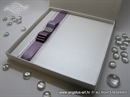 Knjiga gostiju - Purple Luxury Guestbook