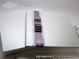 bijela perlasta knjiga gostiju u ekskluzivnoj kutiji