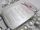Pozivnica za vjenčanje - Pink Bottle