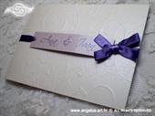 Pozivnica za vjenčanje Lilac Dreams