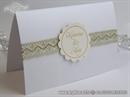 Pozivnica za vjenčanje Gold Lace Sunshine