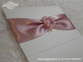 Invitation for baptism - Pink Elegance