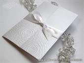 Pozivnica za vjenčanje White Rose Love