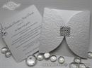 Wedding invitation - Square Crystal Diva
