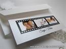 Pozivnica za vjenčanje - White Photo Line