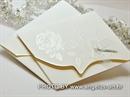 Pozivnica za vjenčanje Bijela ruža New Classic