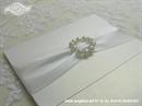 Pozivnica za vjenčanje White Elegance