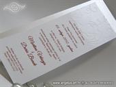 Pozivnica za vjenčanje - White Butterfly Line