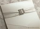 Pozivnica za vjenčanje Bijeli Broš Classic