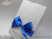Pozivnica za vjenčanje Blue Charm Elegance
