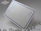 Zahvalnica za vjenčanje - Blue Line