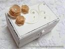 Škrinjica za vjenčano prstenje - Pastel Elegance
