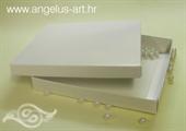 Bijela kutija kvadratna