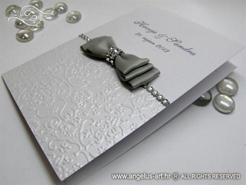 Silver Shine Bow