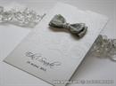 Zahvalnica za vjenčanje - White and Gray Charm