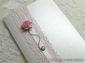 Zahvalnica za vjenčanje - Pink Pearl Rose