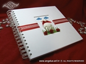 Foto album - Medo White Notebook