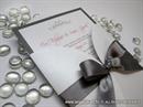 Pozivnica za vjenčanje - Silver Bow Beauty