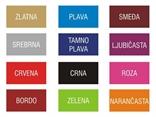 boje auto tablica