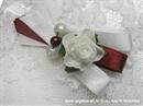 Kitica i rever za vjenčanje Bijela ruža i biseri