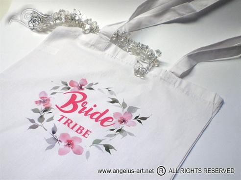 Platnena vrećice BRIDE TRIBE