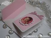 Ekskluzivna čestitka - Baby Bottle Roza