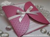 Pozivnica za vjenčanje Raspberry Diva