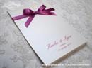 Zahvalnica za vjenčanje Ciklama mašnica