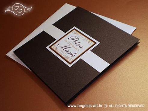 čokoladna pozivnica za vjenčanje