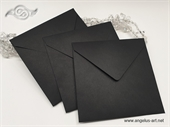 Crna kuverta 15x15cm
