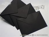 Crna kuverta 12x17,5cm