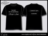 Majica s natpisom - STIL 1