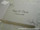 crna personalizacija za knjigu gostiju
