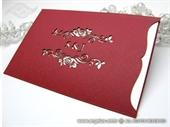 Pozivnica za vjenčanje - Red Charm - L