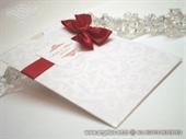 Zahvalnica za vjenčanje Stylish Red