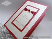 Zahvalnica za vjenčanje - Red Butterfly