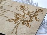 Drvena pozivnica   Roses