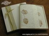 ekskluzivna zahvalnica u drvenoj kutiji s natural dekoracijom