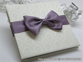 Thank you wedding card - Purple Photo Book