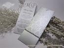 Pozivnica za vjenčanje - Bookmark Silver